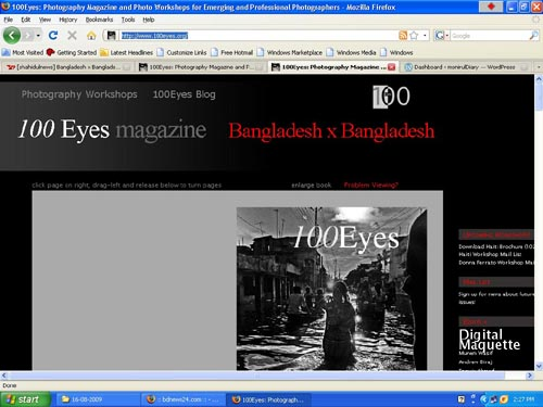 100 Eyes Magazine