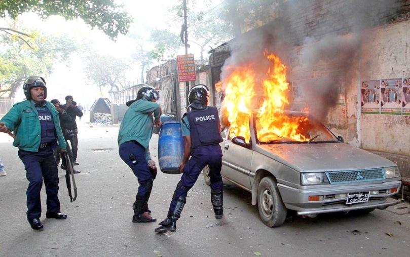 Down to Dusk strike in Bangladesh